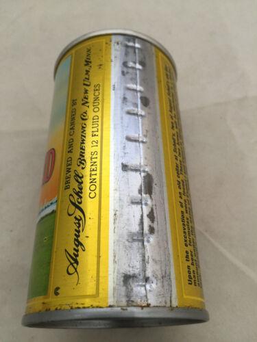 Schell/'s Deer Brand EXPORT 1 RARE Vintage Steel Beer Can Opened Great Shape!