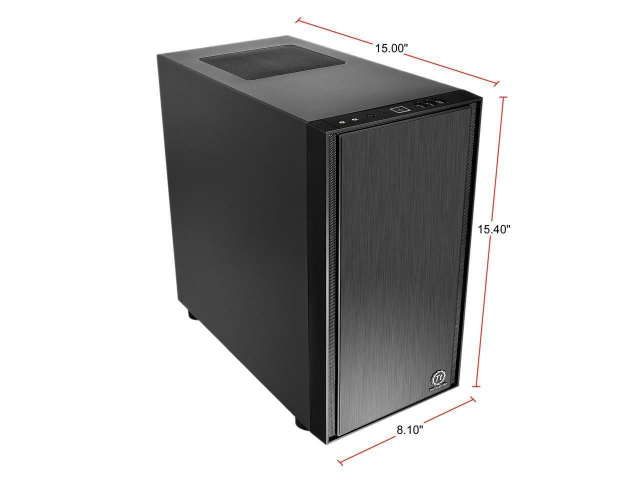 ca-1j1-00s1nn-00 Thermaltake Versa H17 Micro Case ca1j100s1nn00