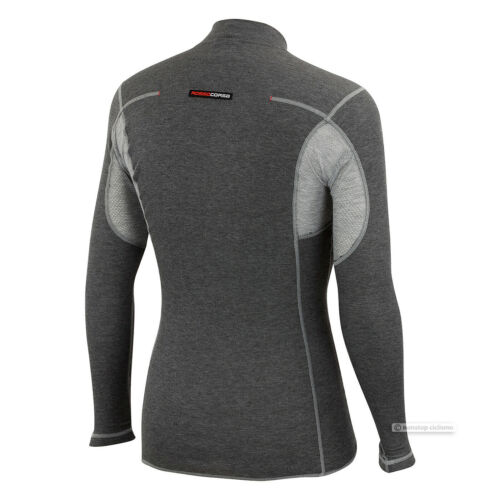 GREY Castelli FLANDERS LS Long Sleeve Thermal Cycling Base Layer