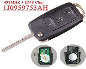 Key-Generic-Blank-ID48-VW-Golf-Passat-Polo-Skoda-1J0959753AH-100-Tested