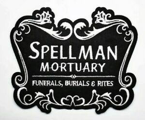 Spellman Mortuary Iron-On Patch The Chilling Adventures of Sabrina Archie Comics