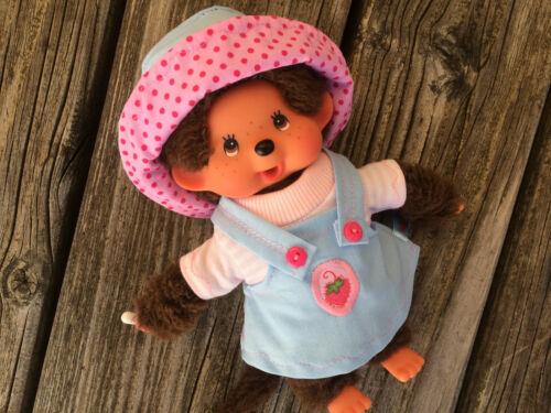 20 cm MONCHHICHI Puppenkleidung 3-tlg NEU Kleidung Latzkleid für MONCHICHI Gr