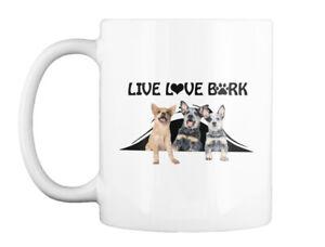 Llb Australian Cattle Dog - Live Love Bark Gift Coffee Mug