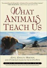 What Animals Teach Us : Love, Loyalty, Heroism, and Other Life Lessons from Our