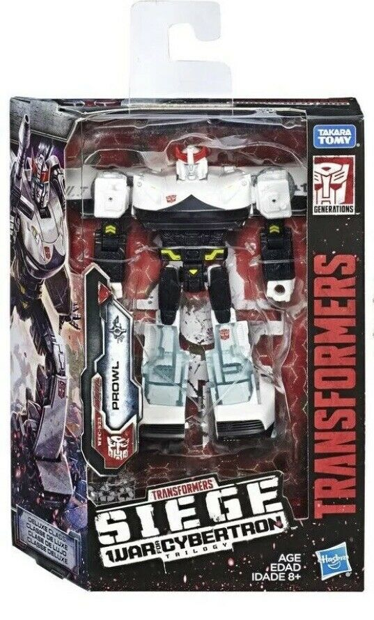 TRANSFORMERS WFC WAR FOR CYBERTRON SIEGE DELUXE PROWL ACTION FIGURE USA