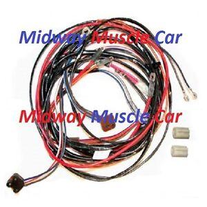 power window wiring harness 72 73 74 chevy corvette 350 454 ncrs ebay rh ebay com