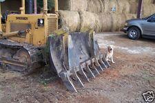 "dozer blade root rake, 92"" wide, 970 lbs AR400 steel NEW, USA Attachments"