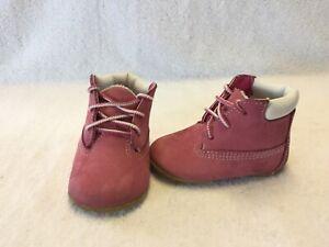 Timberland Infant Baby Girls Pink Crib