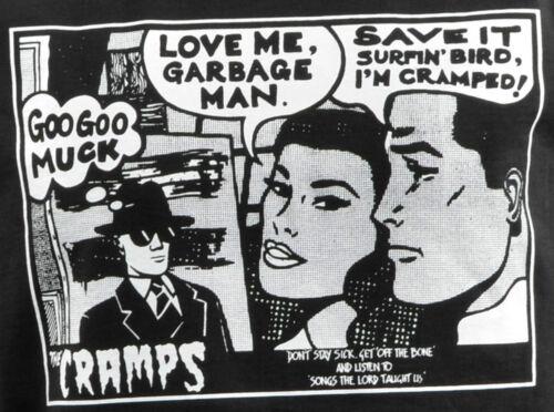 LADIES STRAP VEST TANK TOP CRAMPS GOO GOO MUCK PSYCHOBILLY GARAGE COMIC S-2XL