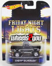 CHEVY SILVERADO Friday Night Lights - 2015 Hot Wheels Retro Entertainment