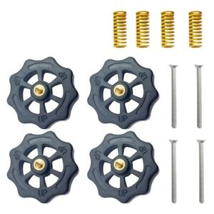 4Pcs-Hand-Twist-Leveling-Nut-4Pcs-Hot-Bed-Light-Load-Compression-Mould-Die-G1O6