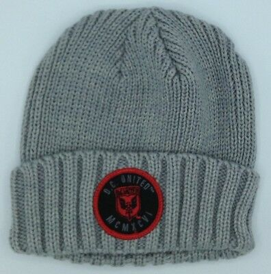 Persevering Mls Dc United Adidas Cuffed Winter Knit Hat Cap Beanie Style #kr78z New New Varieties Are Introduced One After Another Basketball Memorabilia