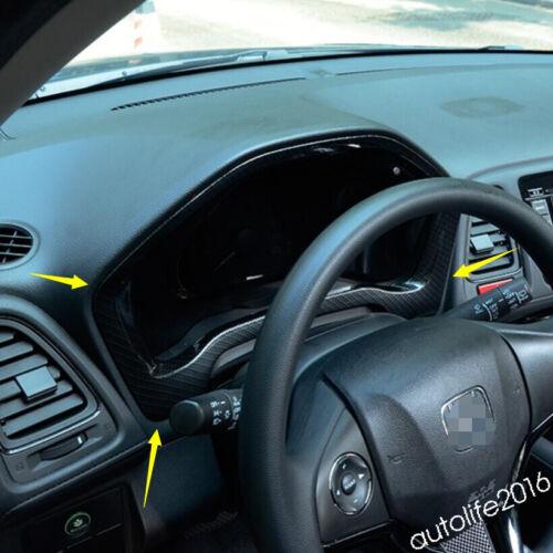 Instrument Screen Frame Cover Kit For Honda HR-V VEZEL 2014-2019 ABS Accessories