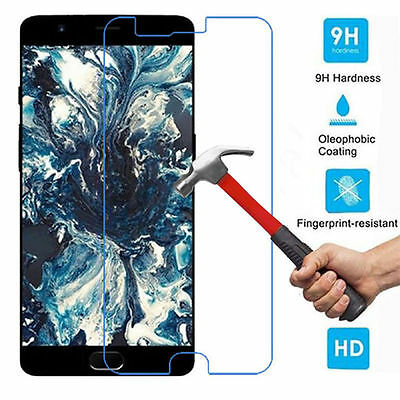 OnePlus 5 High Quality Clear Transparent Tempered Glass Screen Protector Canada