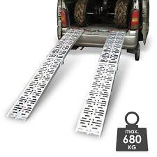 Hengda 2 St/ück Auffahrrampe Faltbare Verladerampe mit Griff bis zu 400kg Verladeschiene Antirutsch 180 x 22.5 cm f/ür Anh/änger Motorrad ATV Quad