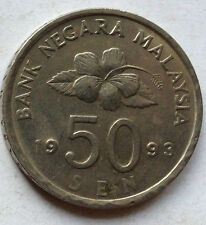 Malaysia 50 sen 1993 coin