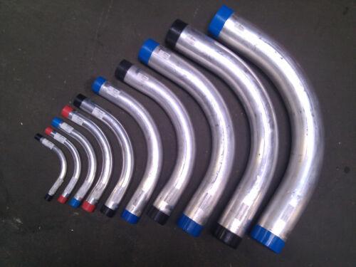 """Aluminum Rigid Conduit Elbow 90 Degree 1-1//2/"""" 5 pc"""