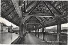 Suisse - cpsm - LUZERN - Kapellbrücke