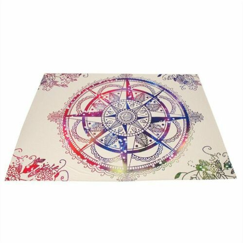 Indian Mandala Tapestry Hippie Wall Hanging Bohemian Bedspread Throw Dorm Decor