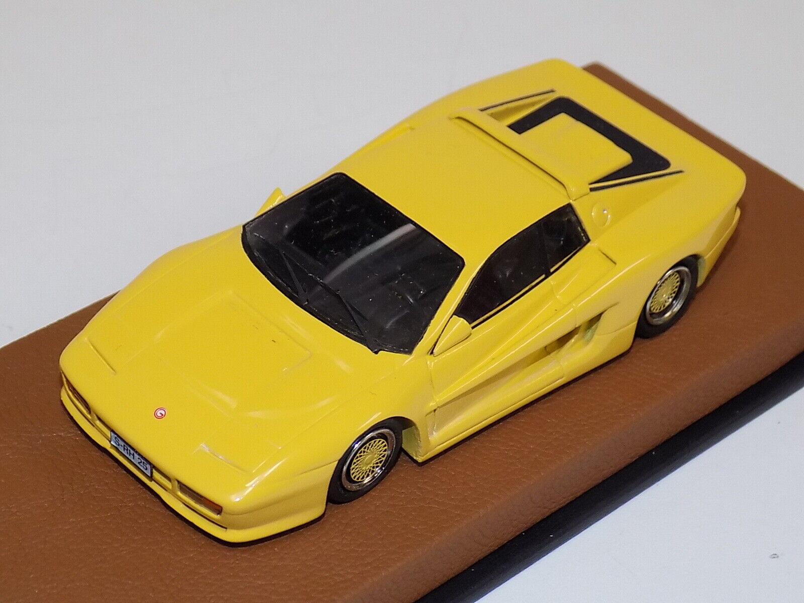 1   43 bbr Ferrari Testa Rossa gemballa 1988 bbr21 gp159 amarillo