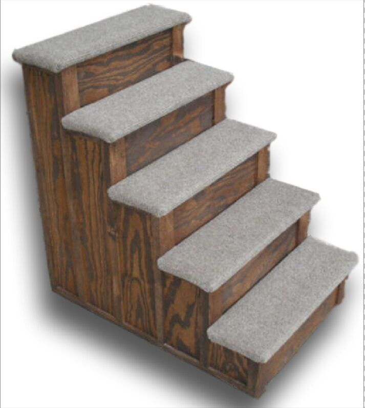 28 inch Wooden Pet Step  Choose how many steps you need