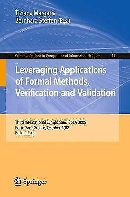 Leveraging Applications of Formal Methods, Verification and Validation: Third I