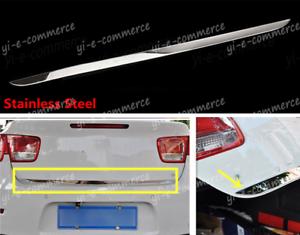 Decor Steel Rear Trunk Boot Tailgate Door Cover Trim For Chevrolet Malibu 13-15