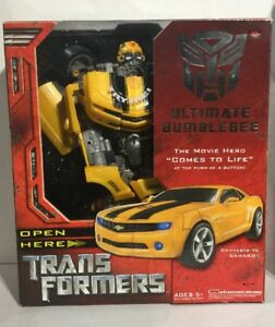 hasbro transformers ultimate bumblebee figure