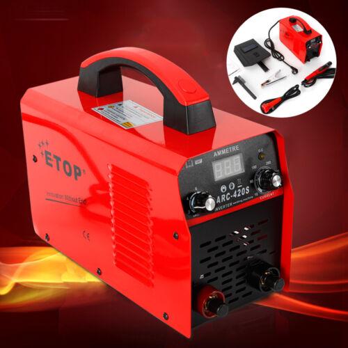 Schweißen Maschine Inverter Schweißgerät 130A IGBT Handheld NEU MMA ARC//STICK