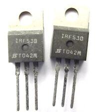 IRF530 Trans MOSFET N-CH 100V 14A 3-Pin TO-220AB x2pcs