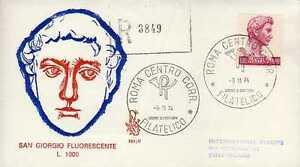 10949-Italy-1974-FDC-Venetia-Raccomandata-L-1000-Donatello