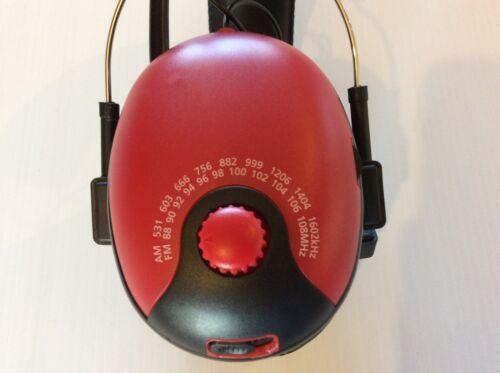 BULLANT SAFETY EARMUFF HEADPHONES AM FM RADIO TUNER FAST FREE AUST SHIPPING