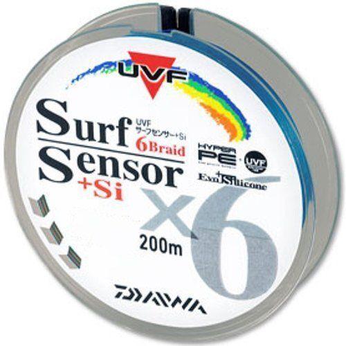 Daiwa PE LINE UVF SURF SENSOR 6 Braid+Si 200m Multi  Fishing LINE