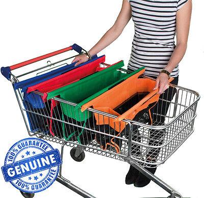 Intelligente Trolley Borse Express Vibe-set Di 4 Borse Shopping Riutilizzabili Supermercato.-mostra Il Titolo Originale