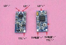 635nm 650nm 808nm 980nm TTL Laser Diode Driver Board Drive DC5V Supply 50-300mA