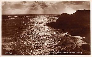 BR93417-port-gorey-sark-moonlight-real-photo-uk
