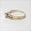 thumbnail 6 - Harold Freeman 14K Gold Brilliant Cut Diamond Estate Engagement Wedding Ring