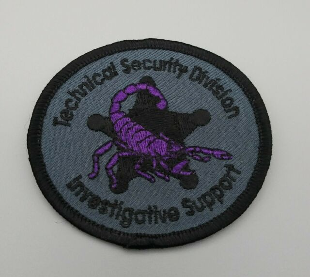US SS Secret Service USSS Maryland Baltimore Field Office Agent Service Patch
