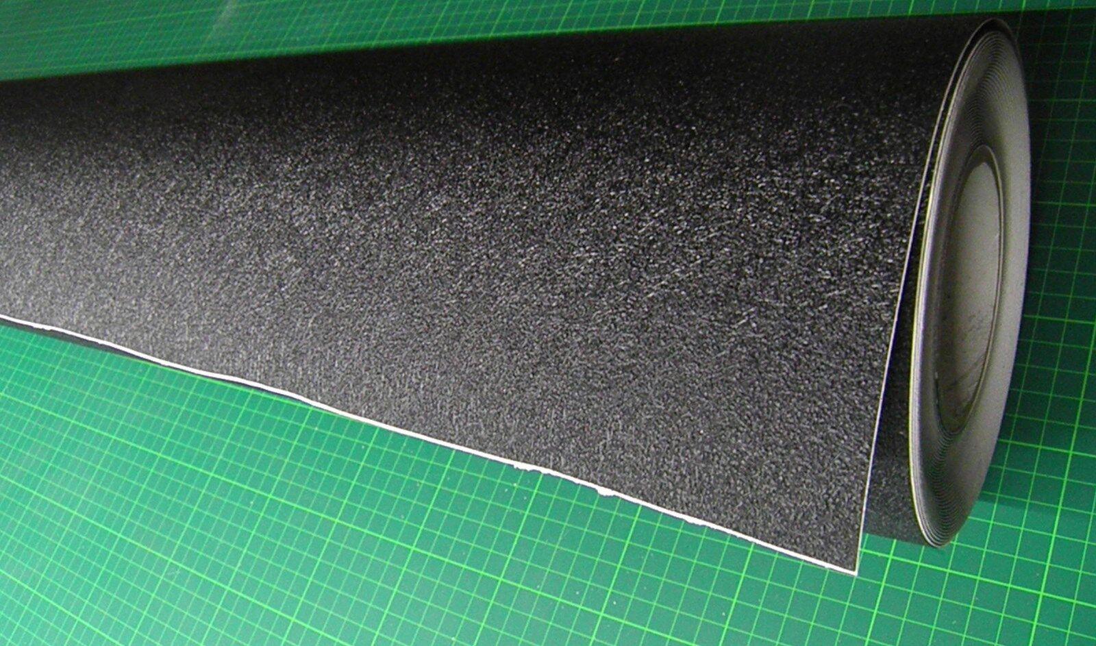 il più alla moda 1 M PVC ANTISCIVOLO Pellicola Ruolo da tavola circa circa circa 119 cm di larghezza nero autoadesivo  risparmia fino al 70%