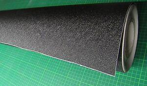 50 cm pvc antirutschfolie schwarz selbstklebend rolle ca 119 cm ebay. Black Bedroom Furniture Sets. Home Design Ideas
