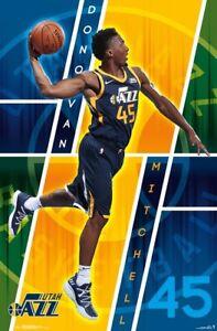 DONOVAN-MITCHELL-UTAH-JAZZ-POSTER-22x34-NBA-BASKETBALL-16622