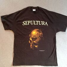 SEPULTURA 1996 ROOTS BLUE GRAPE T-SHIRT 90s ORIGINAL vintage death metal