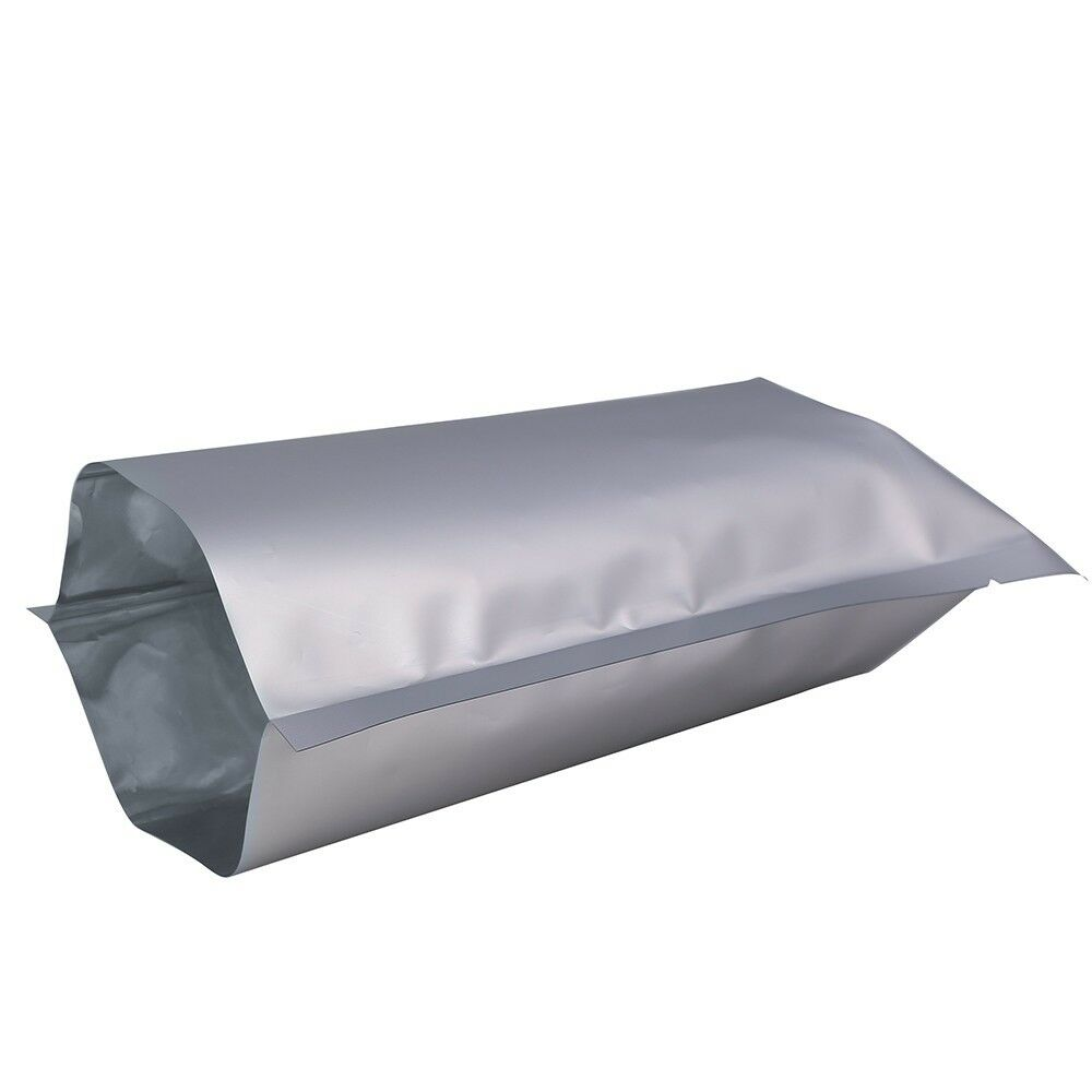Extra Large 50 x Mylar Bags 35 cm x 50 cm Feuille D'aluminium Pochettes hold up to 10 kg