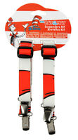 Dr. Seuss Cat In The Hat Striped Suspenders Costume Licensed Elope