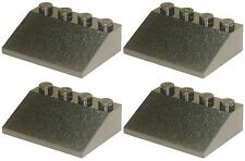 Missing Lego Brick 3297 Black x 4 Slope Brick 33 3 x 4