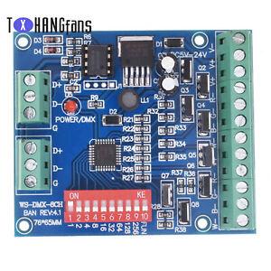 8 canali DMX512 decoder da tavolo lampada a LED RGB REGOLATORE di corrente costante ATF