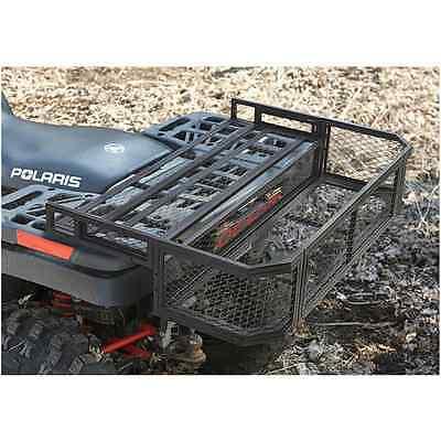 ATV Rear Basket Rack Drop Accessories Heavy Duty Metal Steel Mesh Box Gate Drops