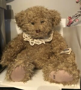 Cottage Collectibles By Ganz Jenni Lou Teddy Bear Limited Edition 39 Of 1800 Cek 65810491851 Ebay