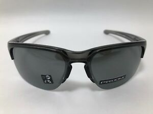 ee10acf4a6cf1 Oakley SLIVER EDGE Sunglasses GREY SMOKE PRIZM BLACK IRIDIUM OO9413 ...