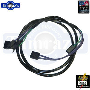 image is loading 67-chevelle-console-wiring-extension-harness -with-automatic-